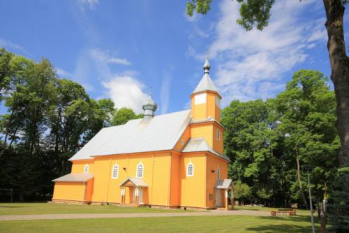 Cerkiew Św. Jana Teologa w Nowoberezowie (Parafia Nowoberezowo)