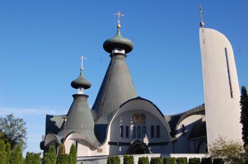 Cerkiew Św Trójcy w Hajnówce