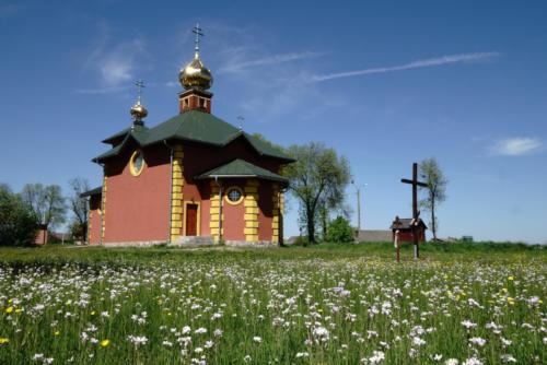 Cerkiew Śww. Męczenników Ziemii Chełmskiej i Podlaskiej w Zbuczu (Parafia Czyże)