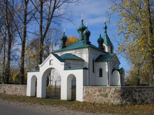 Cerkiew Wniebowstapienia Panskiego w Nowoberezowie