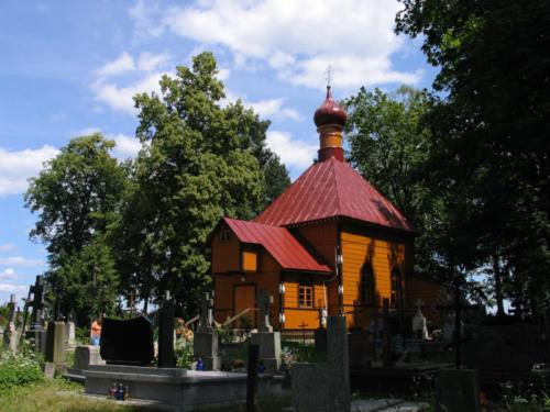 Cerkiew cmentarna Śww. Cyryla i Metodego w Białowieży (Parafia Białowieża)