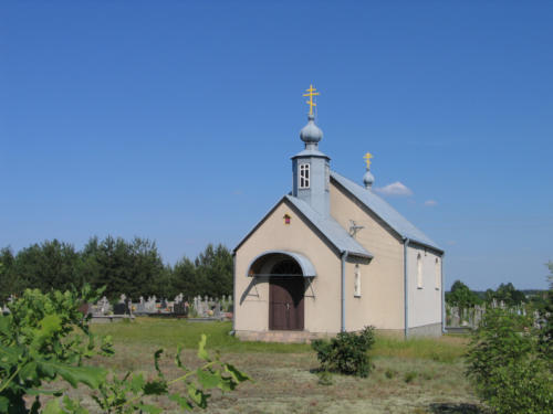 kaplica cmentarna Św. Pantelejmona w Siemianówce (Parafia Siemianówka)