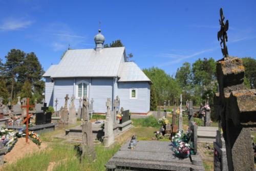 kaplica cmentarna Św. Proroka Eliasza w Morzu (Parafia Stary Kornin)