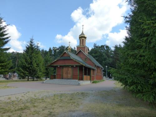 kaplica cmentarna Wszystkich Świętych w Hajnówce (Parafia Narodzenia Jana Chrzciciela - Hajnówka)