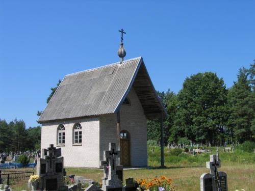 kaplica cmentarna Zmartwychwstania Pańskiego w Lewkowie Nowym (Parafia Lewkowo Stare)